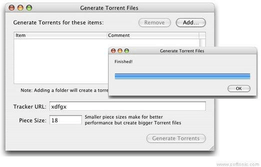 BitTorrent Macintosh