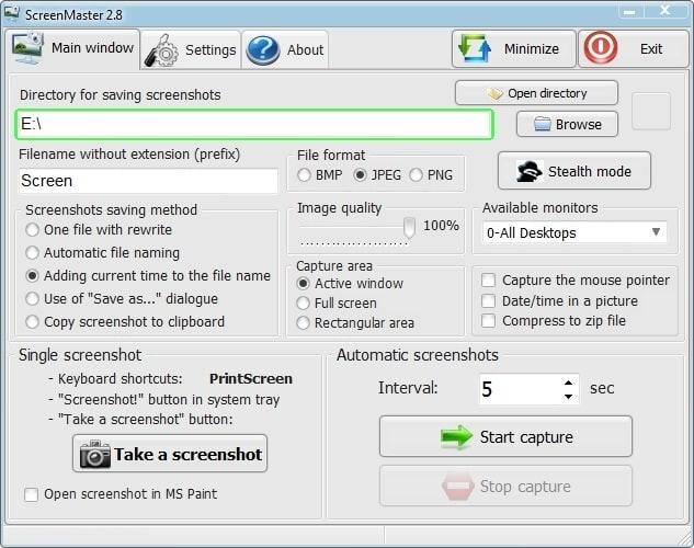 Screenmaster инструкция