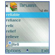 MSDict Concise Oxford Thesaurus
