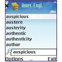 MSDict Cambridge Dictionary of American English