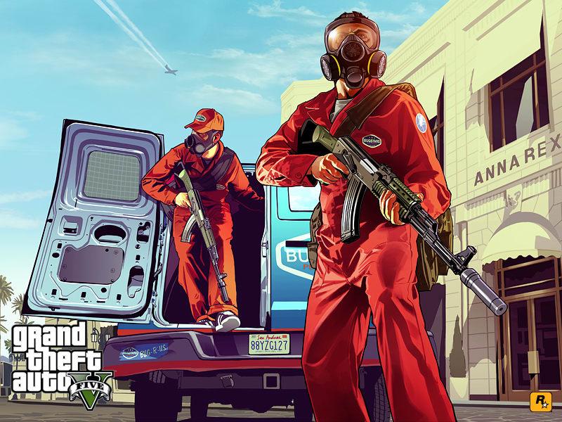Papel de parede GTA 5 Pest Control