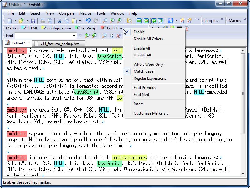EmEditor Professional V.12
