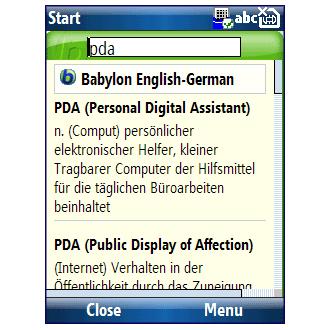 Babylon Mobile Edition