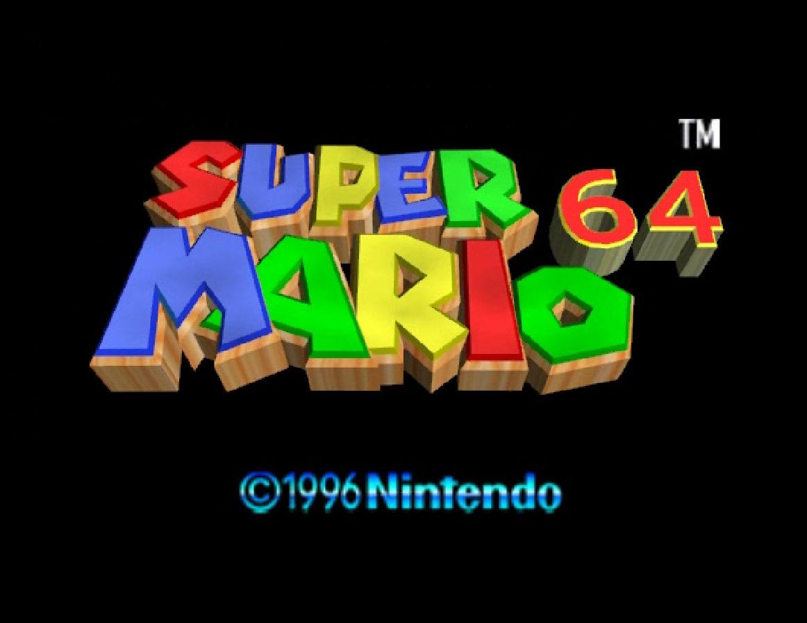Super Mario 64 Screensaver