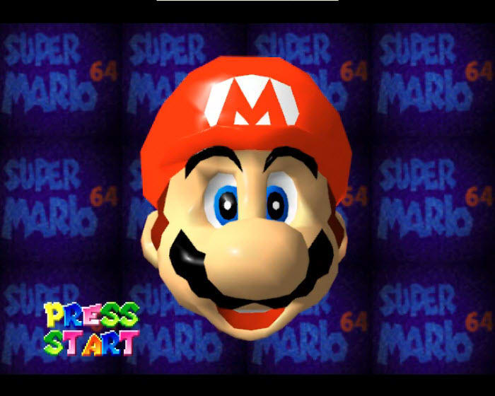 Super Mario 64 Screensaver