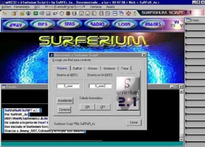 Surferium Script