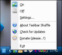 Taskbar Shuffle