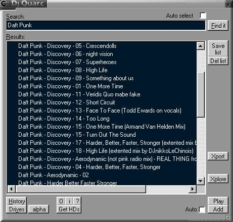 Dj Quarc (WinAmp Plugin)