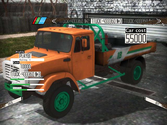 Autocross Truck Racing