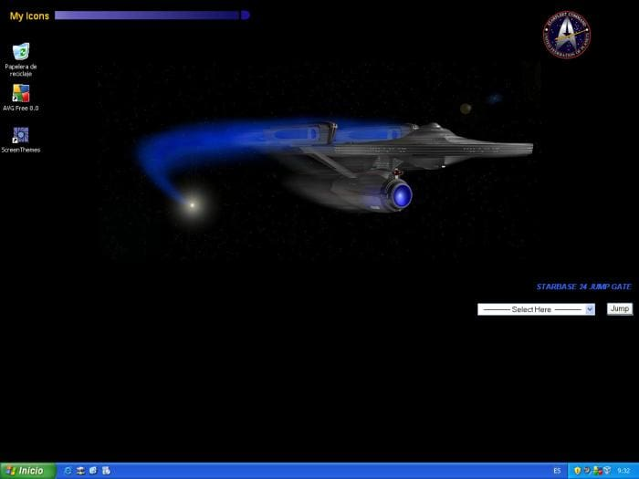 Star Trek Active Desktop Wallpaper
