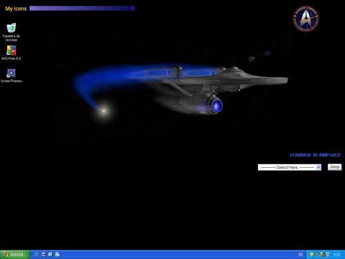 Star Trek Active Desktop Wallpaper