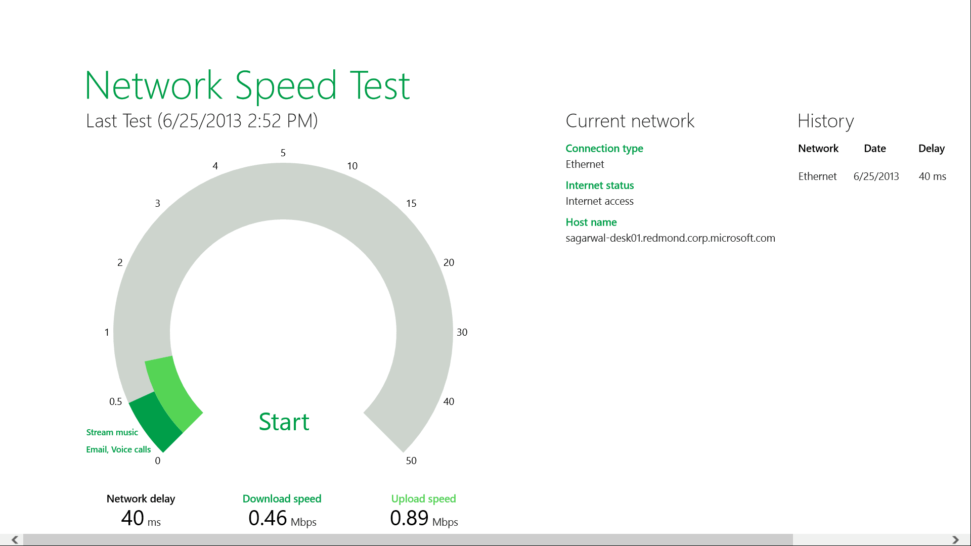 Network Speed Test