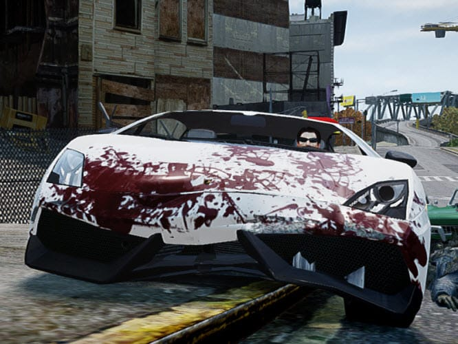 GTA 4 Blood Tweak mod