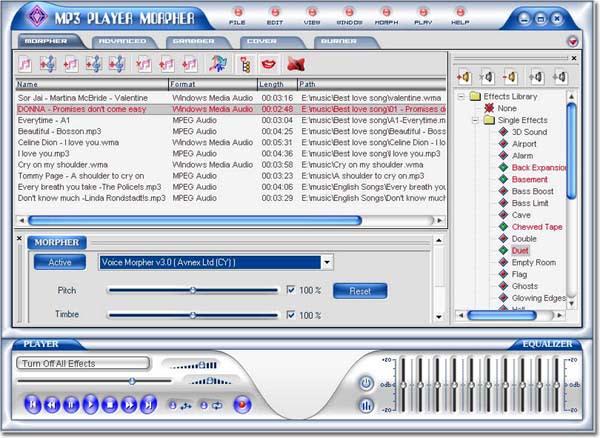 AV MP3 Player Morpher