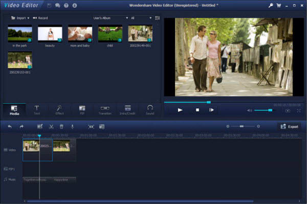 Wondershare Video Editor - Download