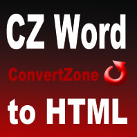 CZ Word to Html