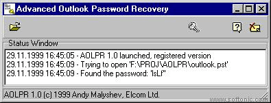 Advanced Outlook Password Recovery