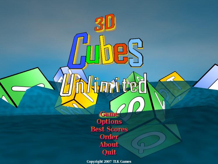 3D Cubes Unlimited 1