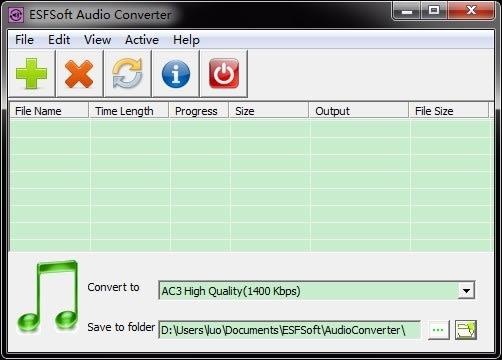 ESFsoft Audio Converter