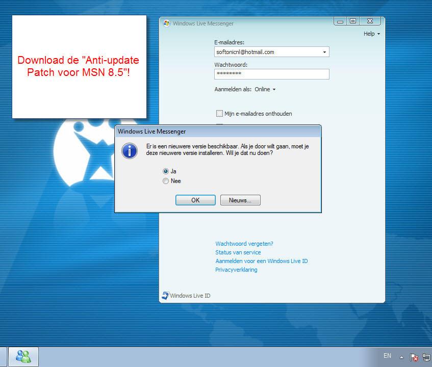 GRATUITEMENT TÉLÉCHARGER MSN8.5 GRATUIT