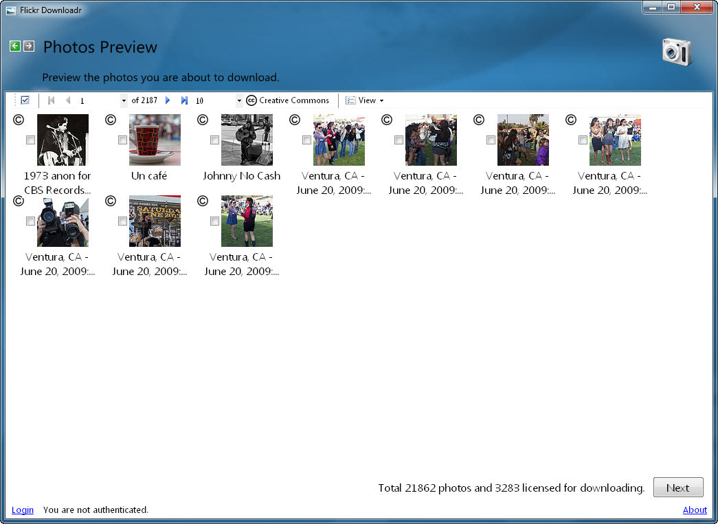 Flickr Downloadr