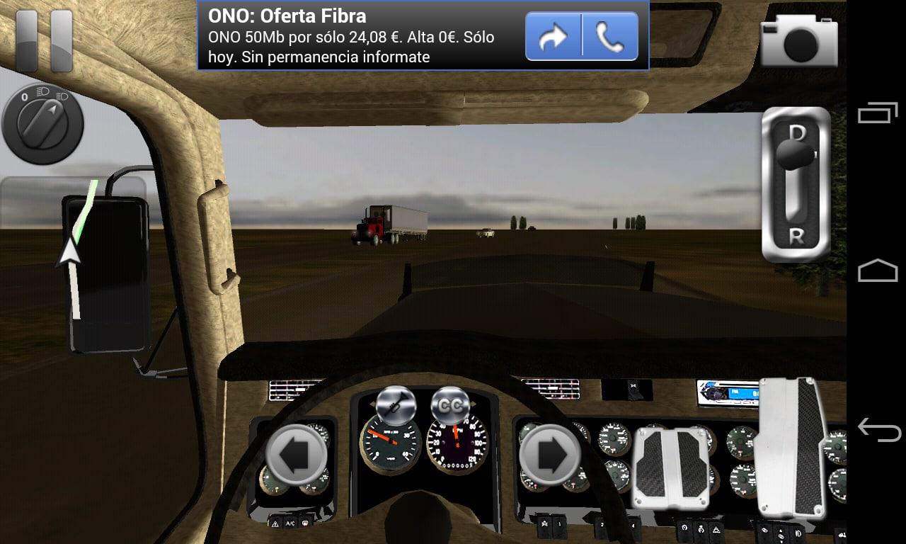 Truck simulator 3d pour android t l charger for Cuisine 3d pour android