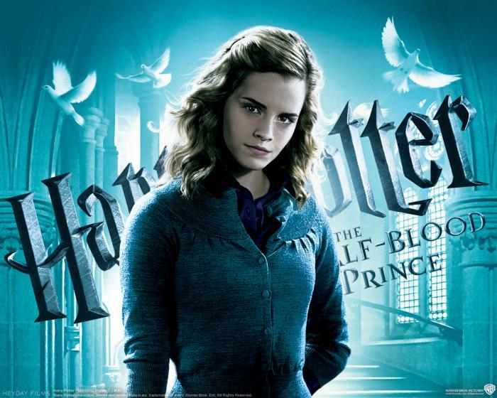 Harry Potter und der Halbblutprinz Wallpaper: Hermine Granger