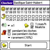 Clocher pour PalmOS