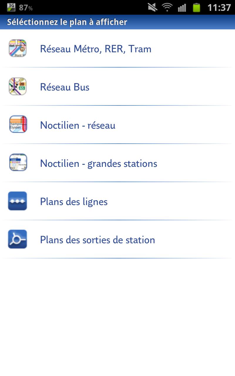 RATP : Métro Bus Paris