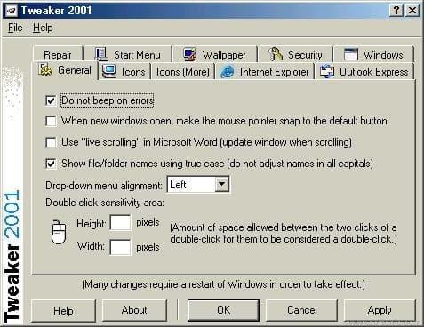 Tweaker 2001