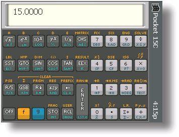 Lygea Pocket 15C Scientific Calculator