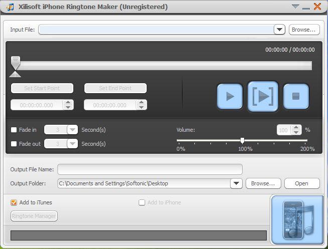 Xilisoft iPhone Ringtone Maker