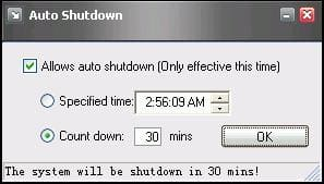 Auto Power-on and Shut-down