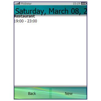 PocketCM Calendar