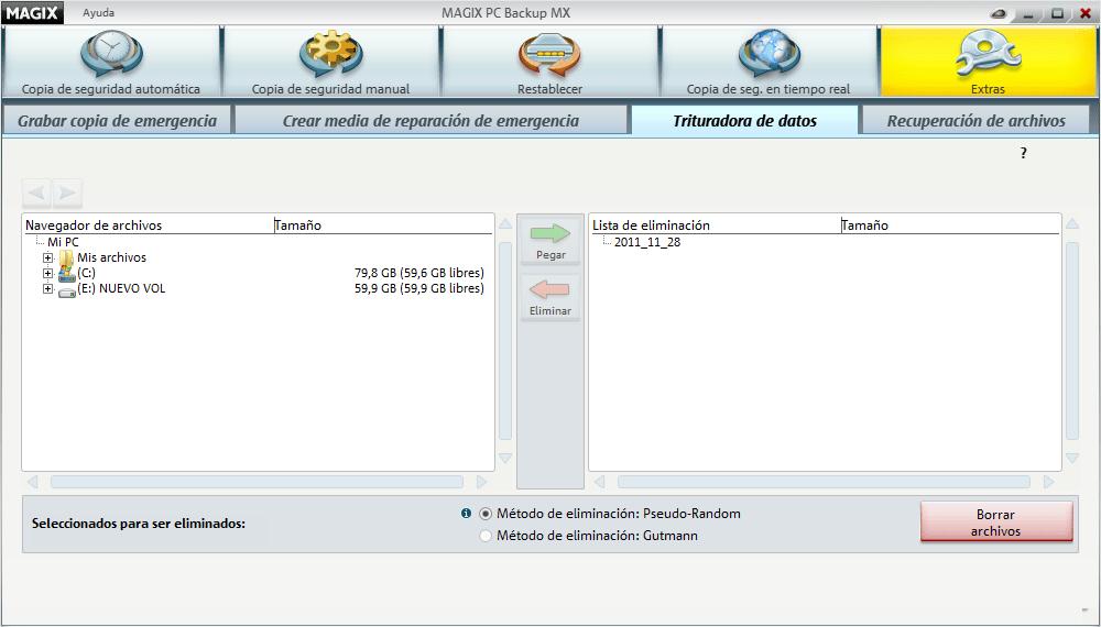 MAGIX PC Backup MX