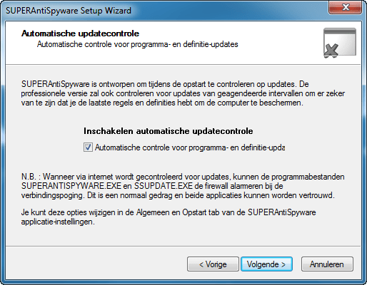 SUPERAntiSpyware Portable Scanner