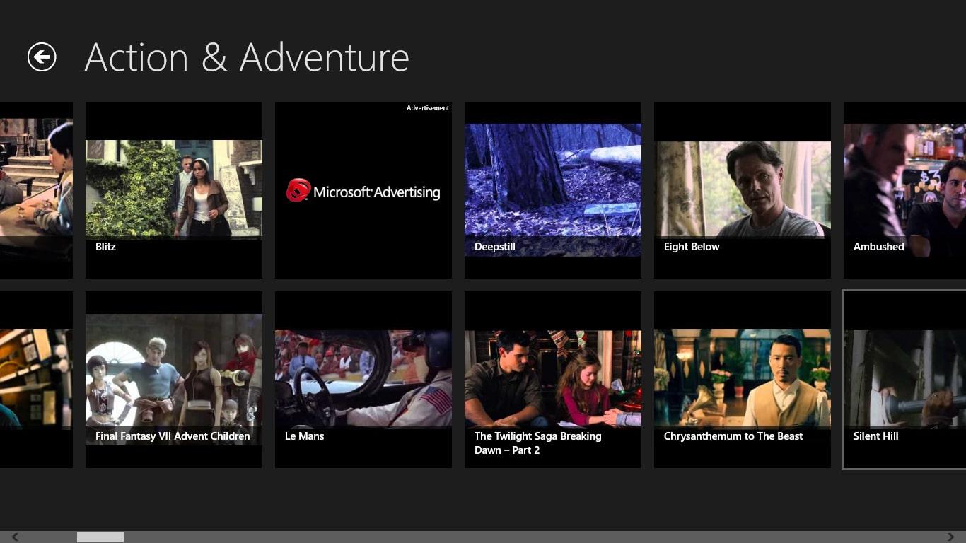 Free Movies Box for Windows 10