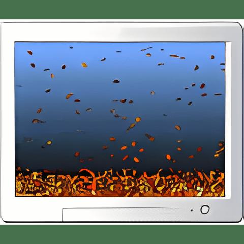 Leaves Screensaver
