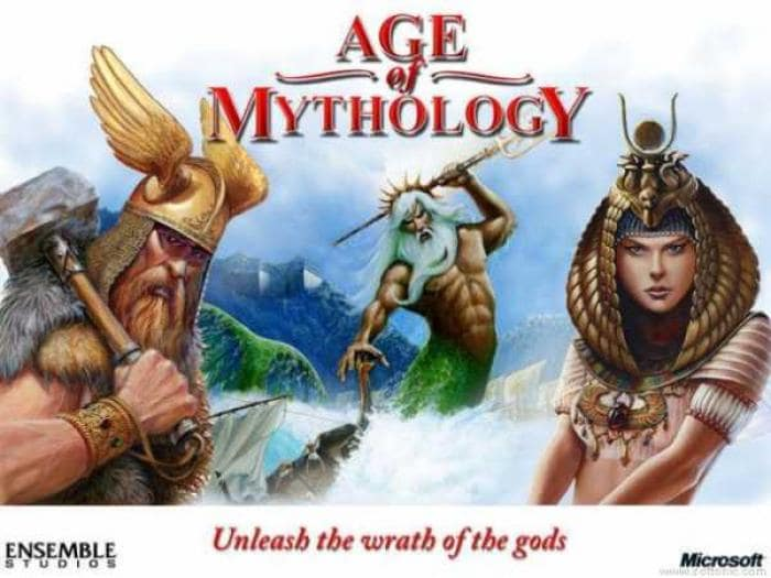 Age of Mythology 1024 x 768 Desktop Wallpaper