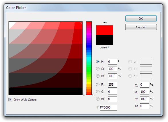 Photoshop-like Color Picker