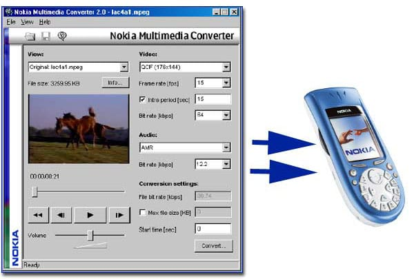 Nokia MultiMedia Converter