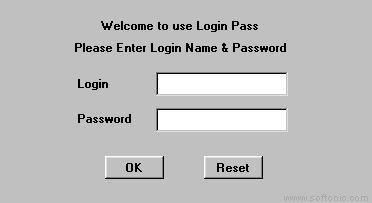 Login Pass Applet