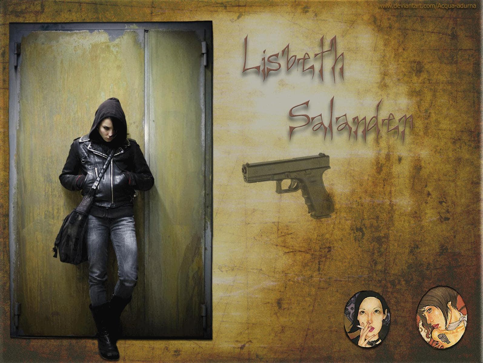 Fondo de Lisbeth Salander (Millenium)
