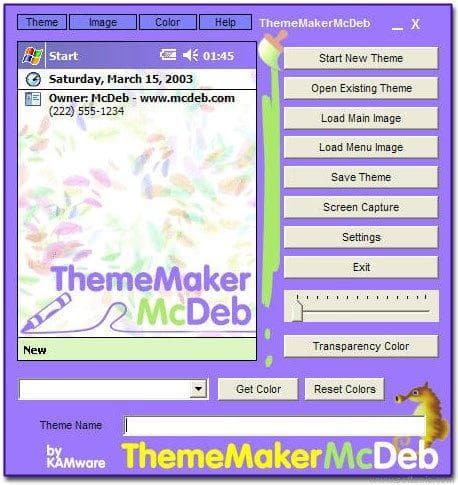 ThemeMaker McDeb