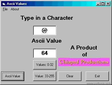 Ascii Checker