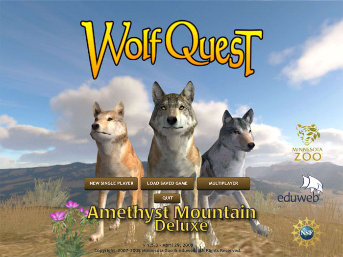 WolfQuest Amethyst Mountain