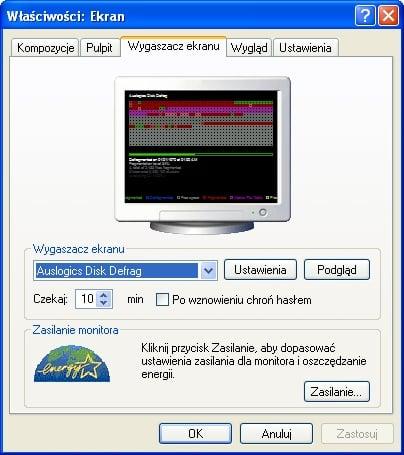 Auslogics Disk Defrag ScreenSaver
