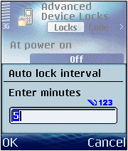 Advanced Device Locks