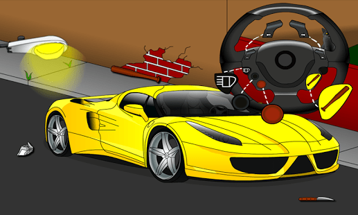 Destruye un coche caro