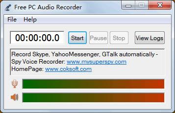 Free PC Audio Recorder